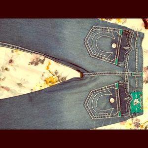 Used men's true Religion jeans all tailored slim